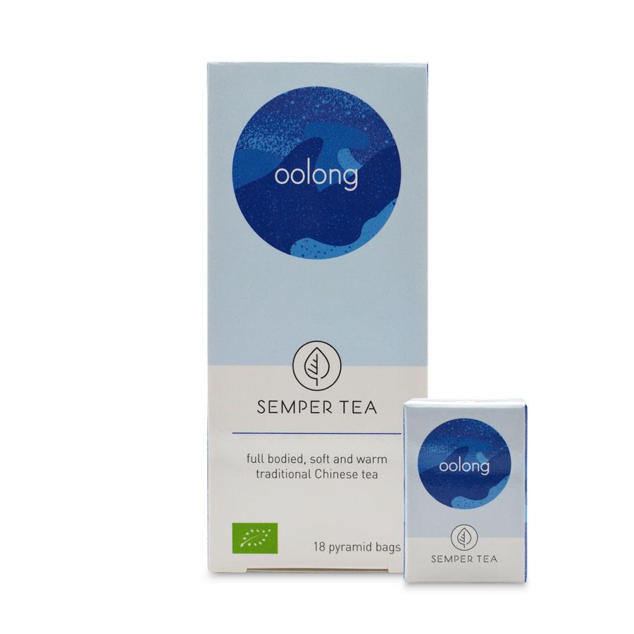 té oolong té azul bio ecológico bolsa pirámide – oolong semper tea