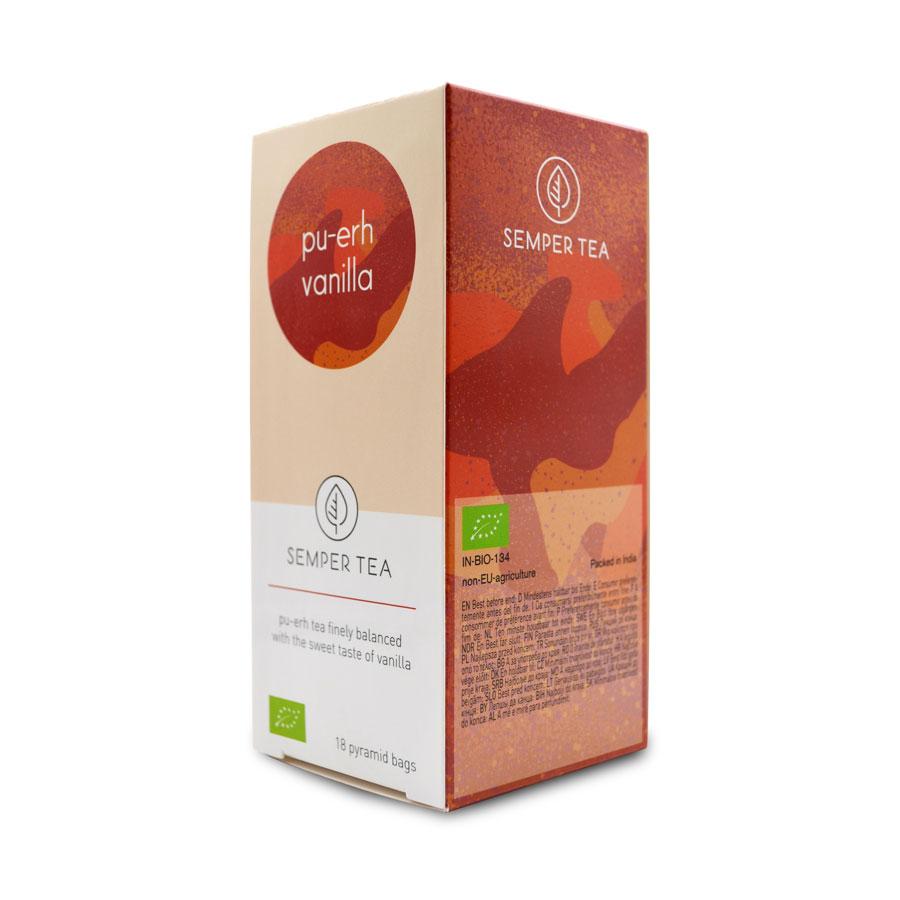comprar te pu erh para adelgazar vainilla piramide biodegradable semper tea
