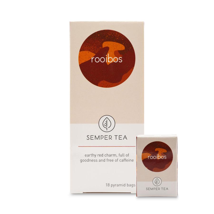 té rooibos té africano bio ecológico bolsa pirámide rooibos semper tea