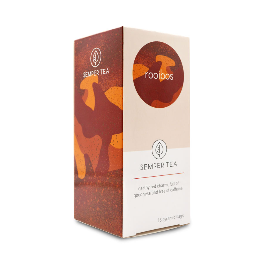 propiedades de te rooibos donde lo venden piramide biodegradable semper tea