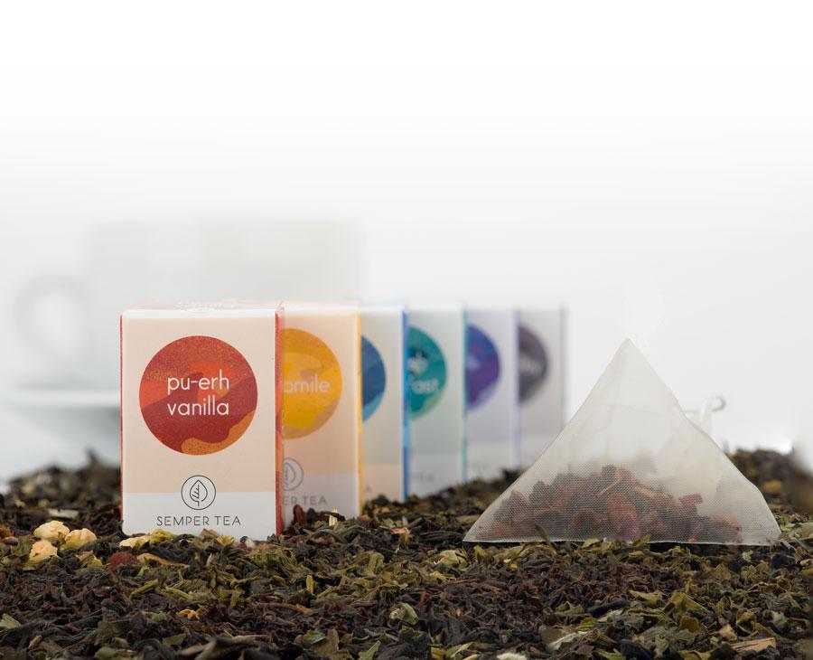 Semper Tea - Pyramid bags