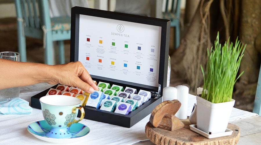 Semper Tea neue, kreative Teekonzepte für Hotellerie und Gastronomie kombiniert Traditionelles mit Modernem und präsentiert ausgewählte Bio-Tees.