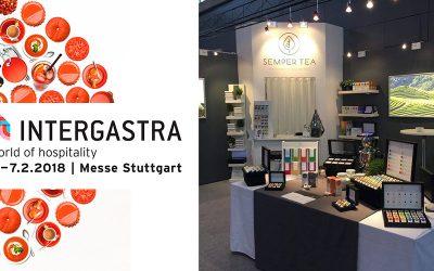 Semper Tea se presenta en la feria Intergastra 2018 de Stuttgart