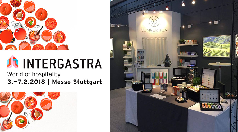 Semper Tea en Intergastra 2018 en Stuttgart