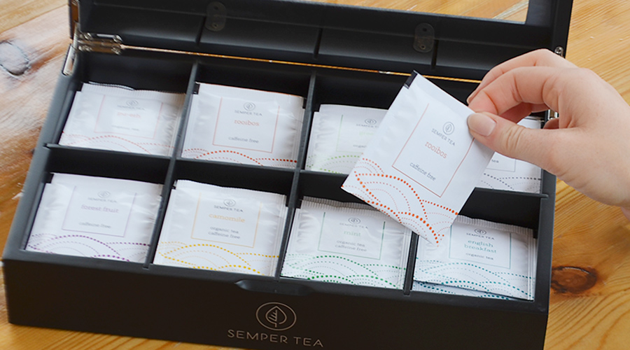 Pearl Collection, un concepto de té todoterreno. Semper Tea, tea concepts for your business. Semper Tea ofrece un concepto de té moderno y elegante.