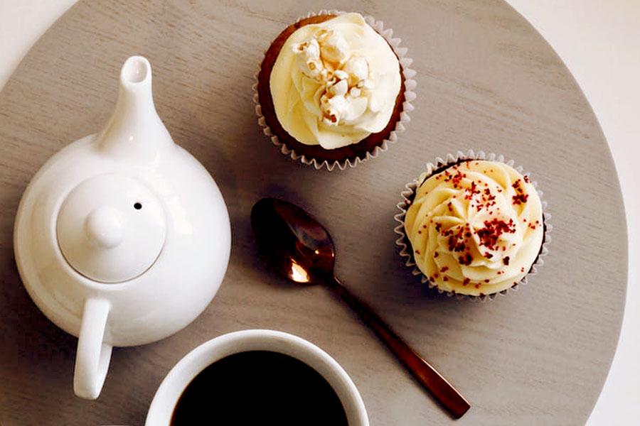 ? Tolle selbstgemachte Muffins mit Oolong Tee in Bio Qualität