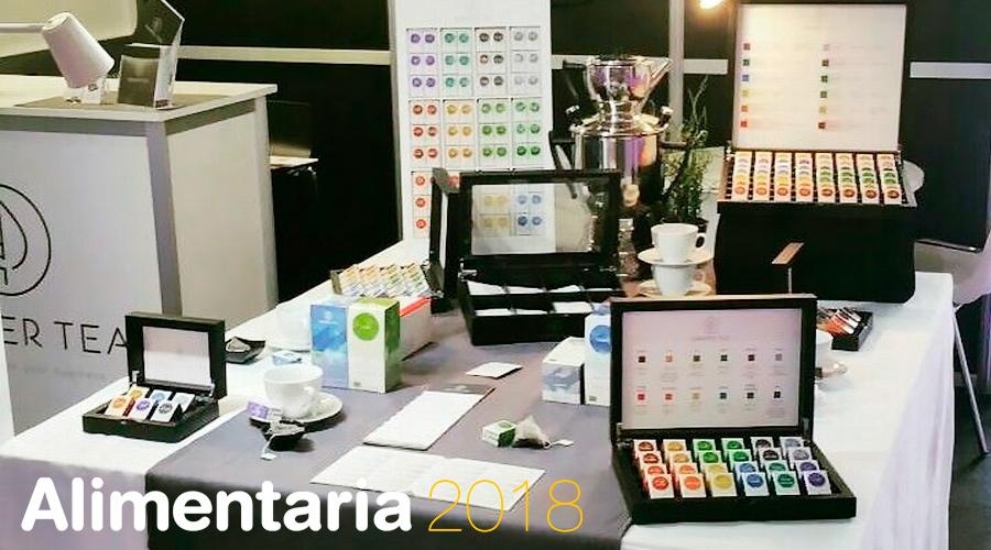 Semper Tea se presenta al mercado en Alimentaria 2018 en la Fira Barcelona