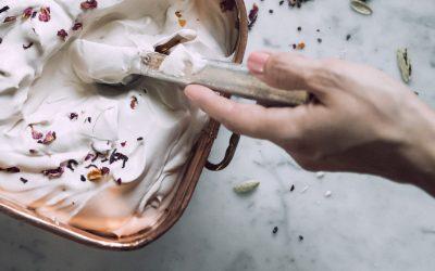 Recetas de helados caseros con té negro orgánico para todos