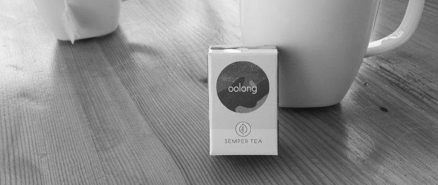 Como otras variedades de té oolong, el té oolong de Semper Tea puede ser consumido más de una vez, y de esta forma, se puede disfrutar de su aroma ligeramente cambiado.