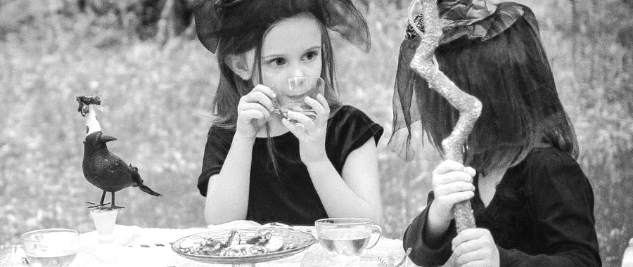 halloween tea party ideas para decorar