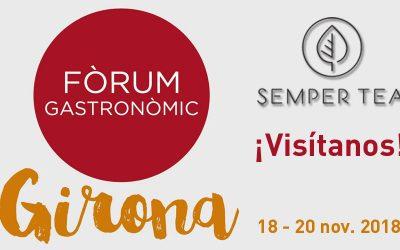 Semper Tea en Forum Girona – Encuentro gastronomico de profesionales