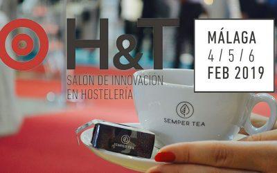 Feria H&T 2019 en Málaga Semper Tea del Guadalquivir al cálido Mediterráneo