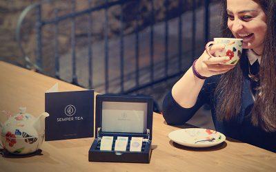 Auswahl hochwertiger Bio Tees in luxuriöser Ferienwohnung bleibt im Gedächtnis