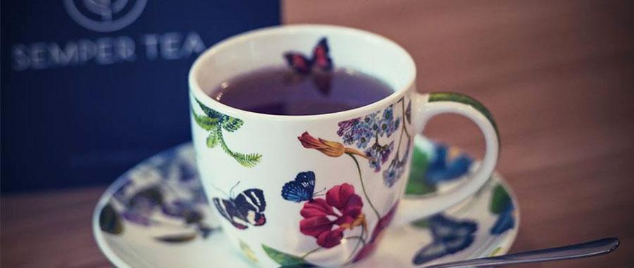 hochwertigen Tee im Hotelzimmer oder Suite