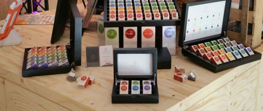 hochwertiger biotees hotelerie pyramidentee gastrovision semper tea