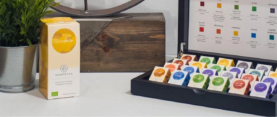 tes organicos e infusiones organicas bolsita piramidal biodegradable salon gourmets semper tea