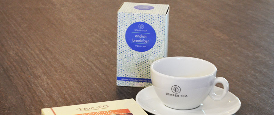 productos de tes e infusiones para hotel y room service salon gourmet semper tea