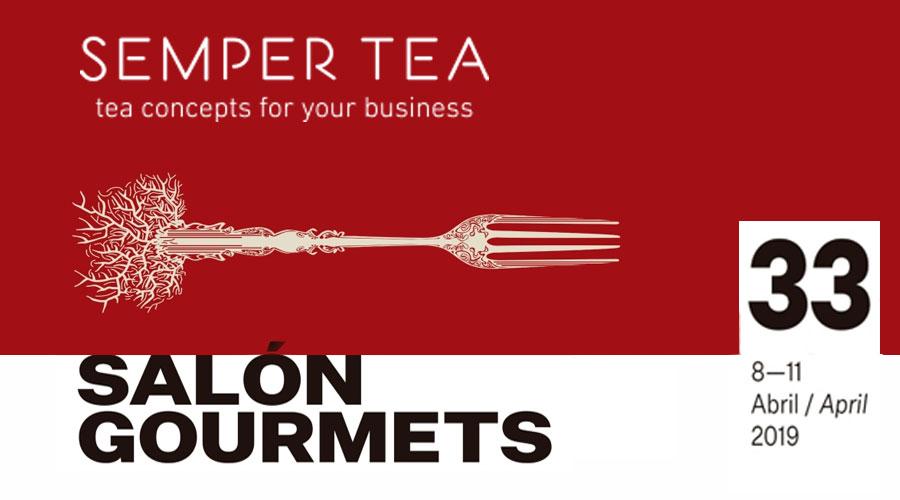 tes infusiones exclusivas en el salon de gourmets ifema madrid semper tea