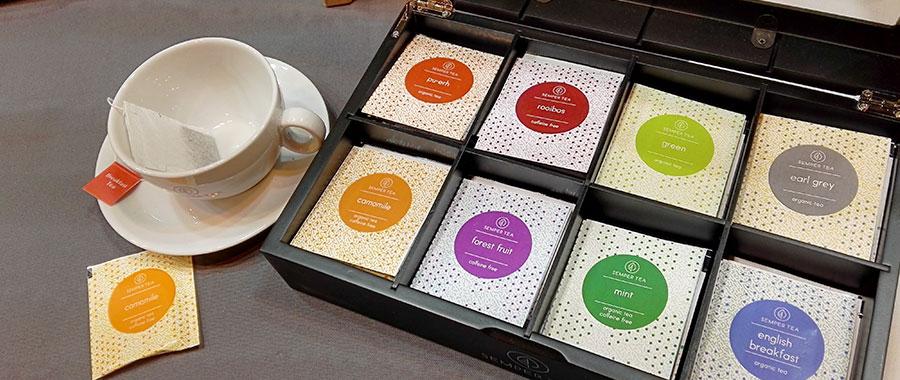 como preparar un te en una taza individual en la oficina semper tea hurtado estates