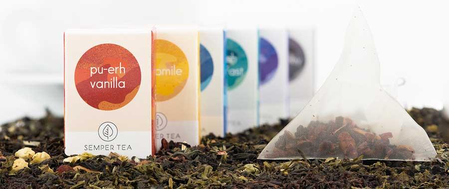 Más sencillo imposible – Gin tónic con té SEMPER TEA