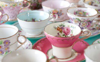 Tee am Bankett Von der Bratwurst zum Fünf-Sterne-Catering