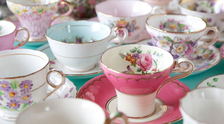 tee auf einem buffet bankett semper tea