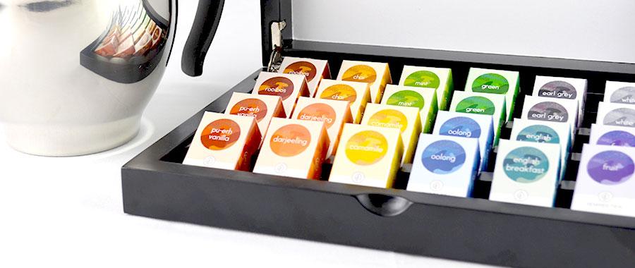 proveedor de café té por variedades de infusiones orgánicas de Semper Tea