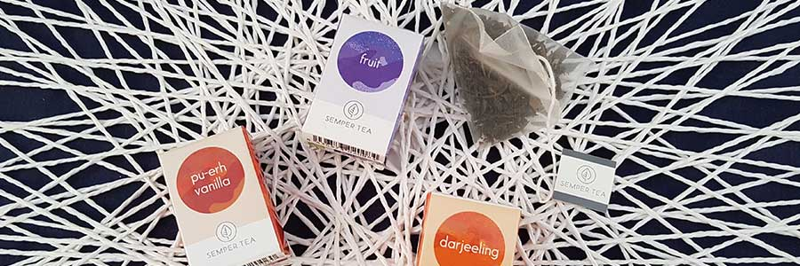 bolsa pirámide para tés biodegradable con tacto sedoso