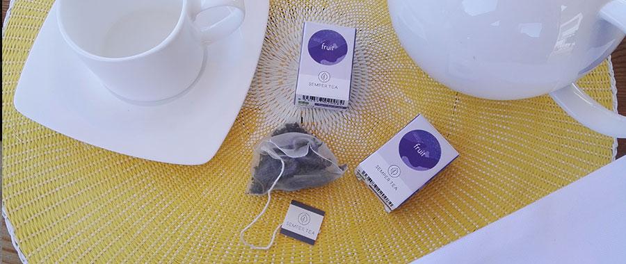 Teesorten fürs Frühstücksbuffet im Hotel Semper tea