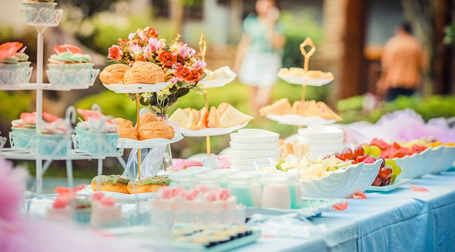 Auserlesene teesorten fürs Hotel-Buffet Semper tea