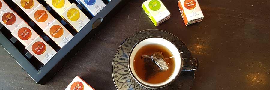 Exzellente Tee Auswahl Heben Sie sich von der Masse ab semper tea