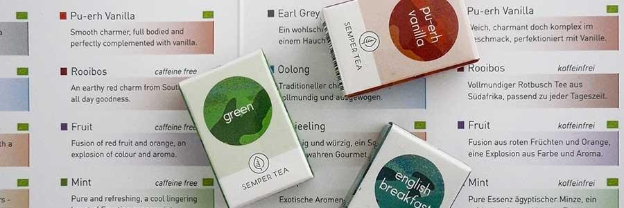 pyramid tea bags to biodegradable semper tea