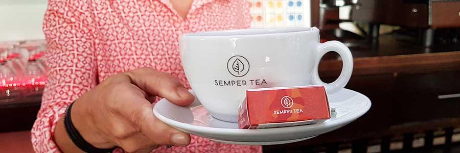 Teelösungen für hotel semper tea