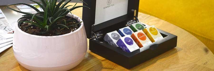pyramid tea bags compostable semper tea