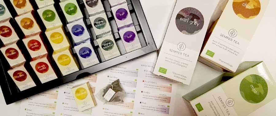 Tea selection gift set