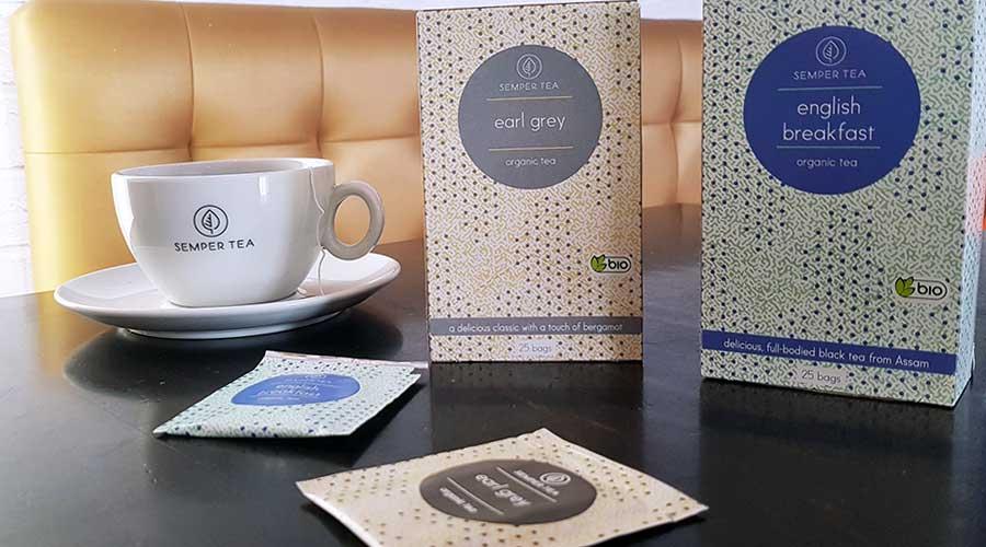 Teelösungen für Gastronomie semper tea