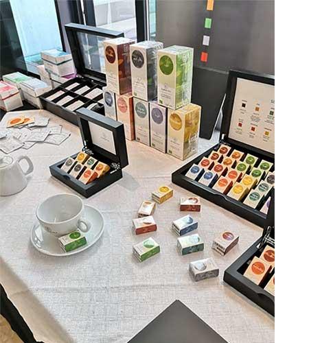organic whole leaf teas biodegradable pyramid teabags semper tea
