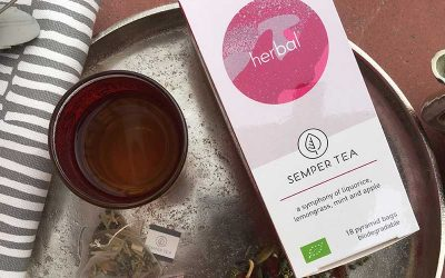 Peppermint and Liquorice – New organic Herbal Infusion – Decaf Tea