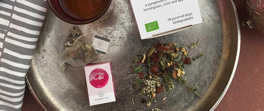 nueva variedad de infusiones Té de hierbas Herbal