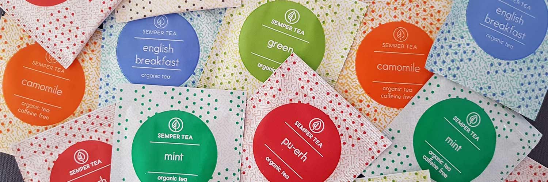 Tes e Infusiones para empresas de catering para colegios Semper tea