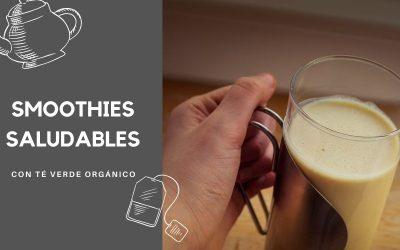 Recetas de Smoothies saludables con té verde | Empieza el día con energía