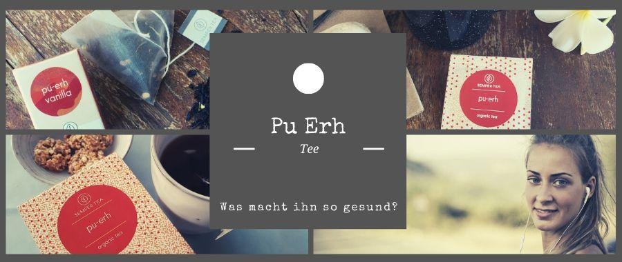 Roter Tee Pu-Erh Herstellung und Zubereitung