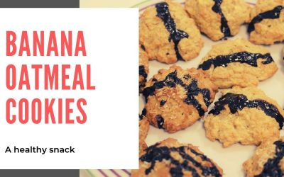 Tea Pu-erh Vanilla and Banana Oatmeal Cookies | A healthy snack
