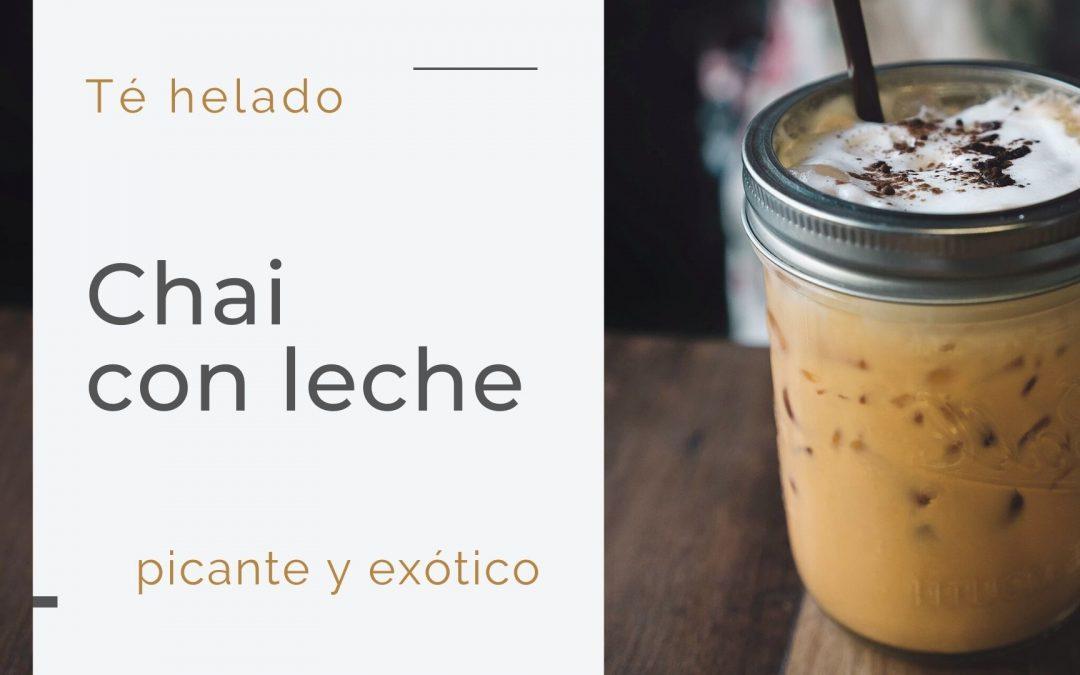 Té helado Chai Latte | Bebida refrescante y picante