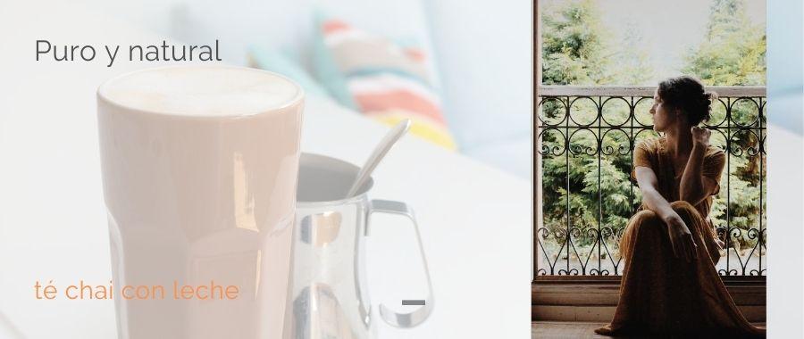 te helado chai con leche bebida picante bebida exotico semper tea