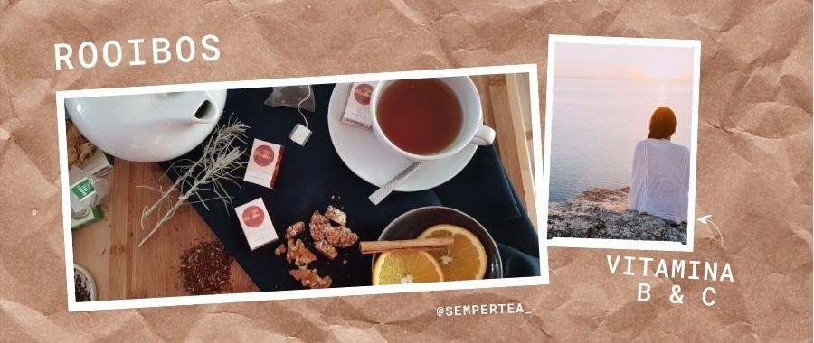 infusión Rooibos remedios para la ansiedad Semper tea