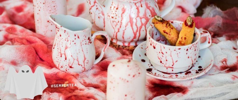 low carb brownies halloween tea party semper tea