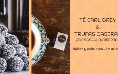Postres para diabéticos | Earl Grey y trufas de coco almendras | Sugar free